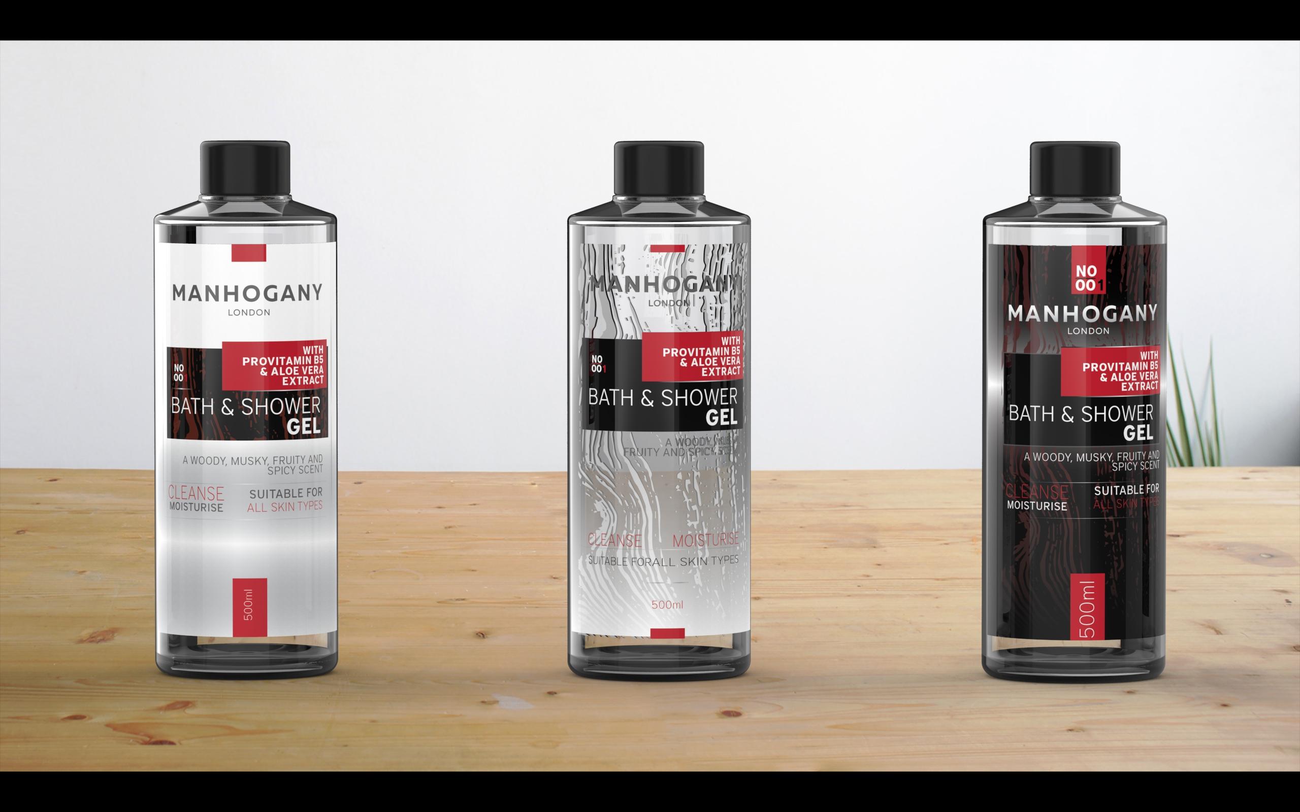 Manhagony London branding i dizajn pakovanja