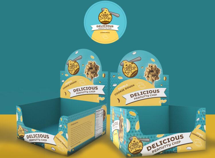 Grab and Dough, Packaging design