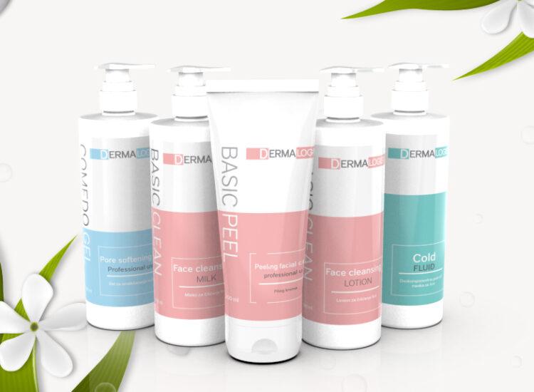 Dermalogic, Sebia, Branding and packaging