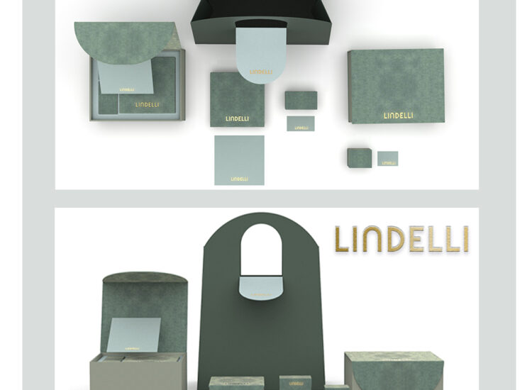 Contemporary luxury brand – Jewellery package-Lindelli